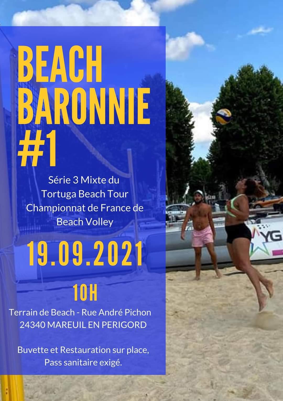 Championnat de Beach Volley