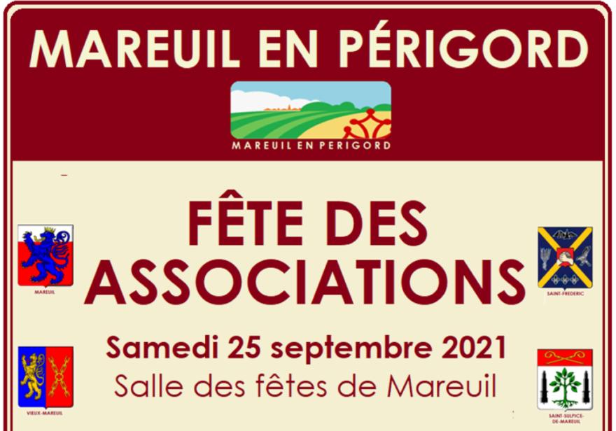 Fête des associations – 25 septembre